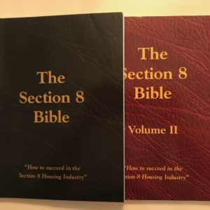 Section 8 Bible Volumes 1 and 2