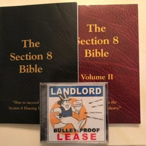 section 8 Bible vol 1 and-2 Plus cd